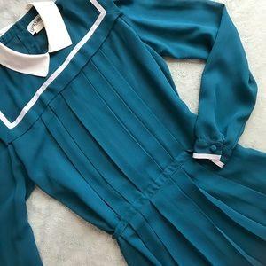 VTG Lizzy & Johnny Lucero Peter Pan Collar Dress